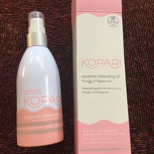 Kopari coconut cleansing oil